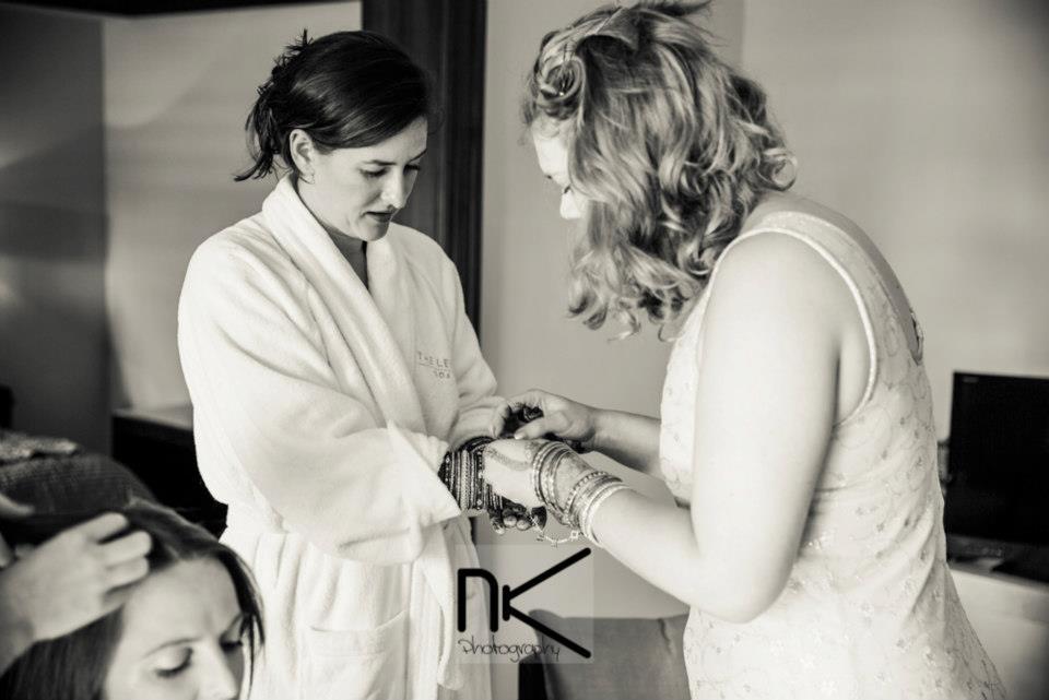 Bride getting Ready by Nikhil Kapur Photography Wedding-photography | Weddings Photos & Ideas