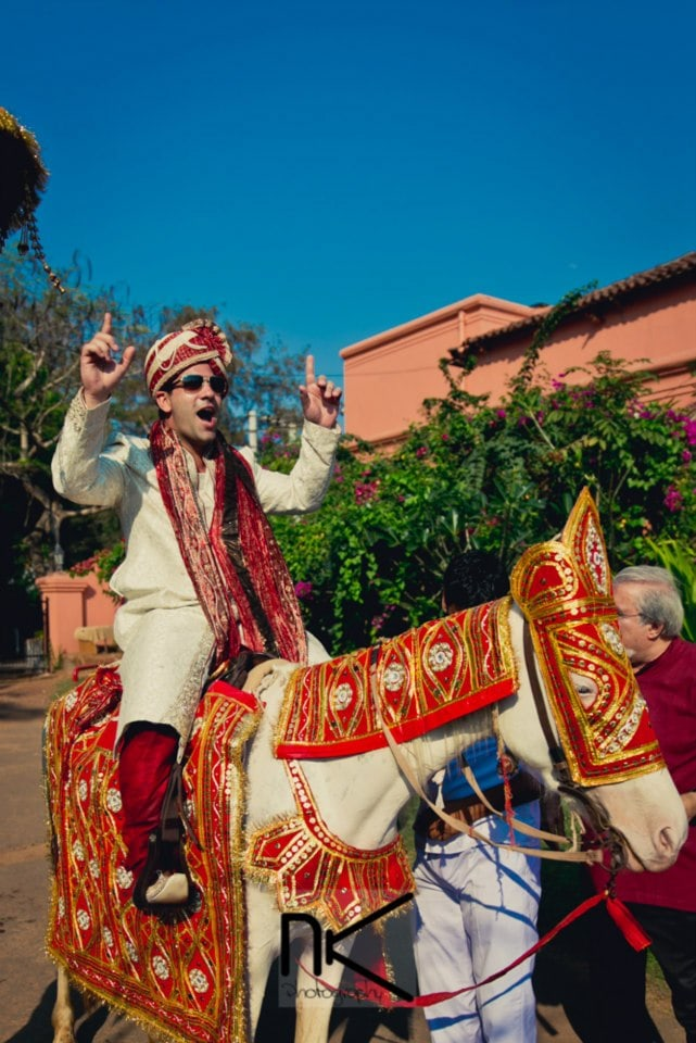 Groom's Entry by Nikhil Kapur Photography Wedding-photography | Weddings Photos & Ideas