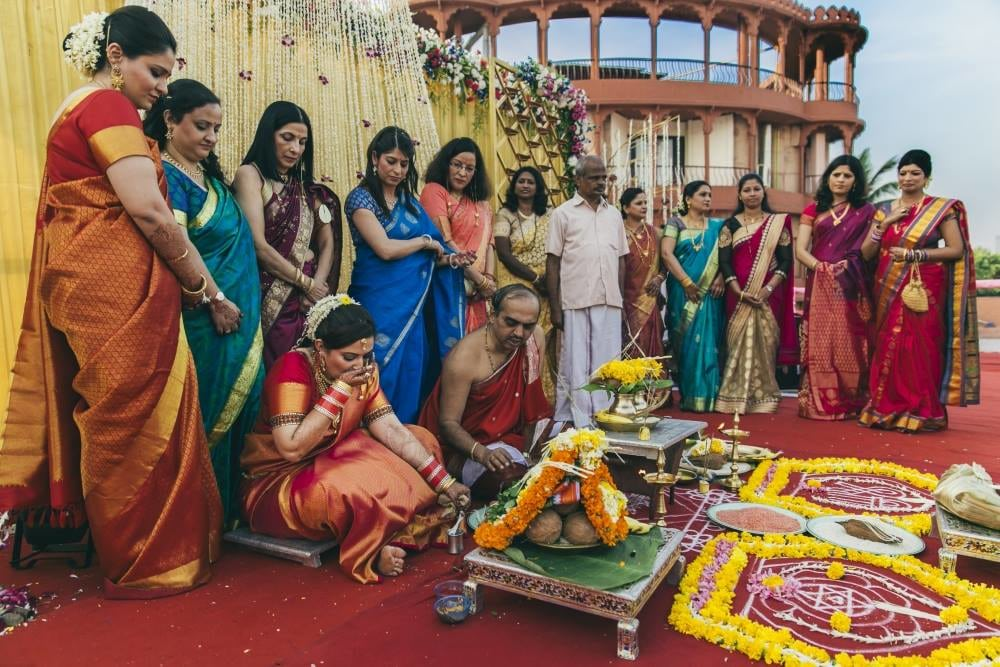 Wedding ceremonies take place in full swing by Nikhil Kapur Photography Wedding-photography | Weddings Photos & Ideas