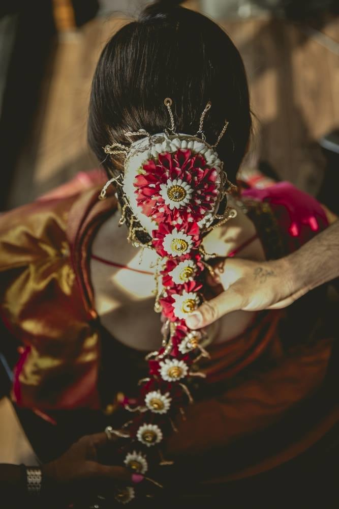 The hair done well by Nikhil Kapur Photography Wedding-photography | Weddings Photos & Ideas