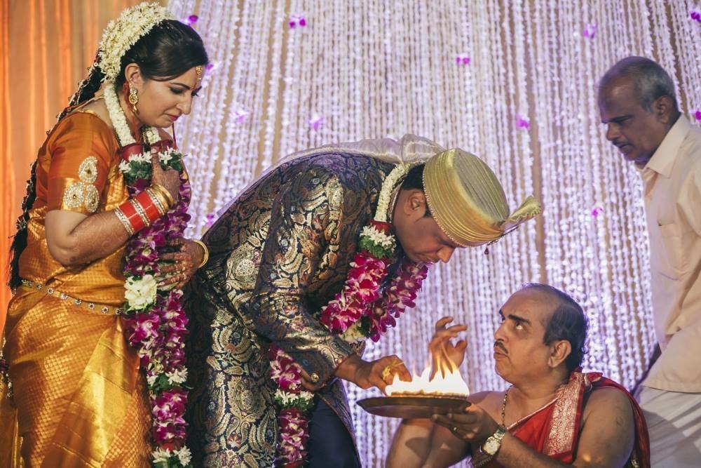 Bright yellow saree by Nikhil Kapur Photography Wedding-photography   Weddings Photos & Ideas