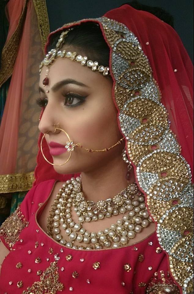 Bridal look on point by Nishi Singh Bridal-makeup | Weddings Photos & Ideas