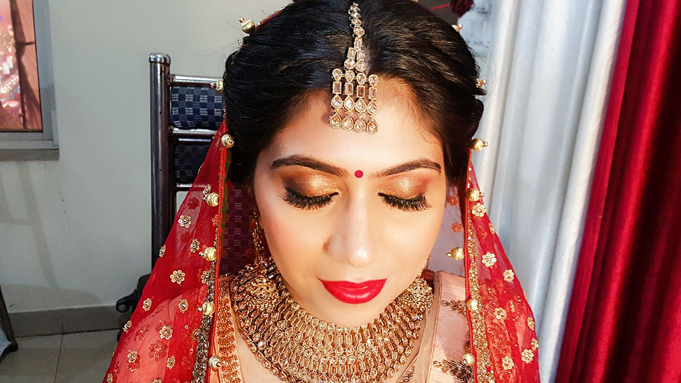 Candid close-up look by Nishi Singh Bridal-makeup | Weddings Photos & Ideas