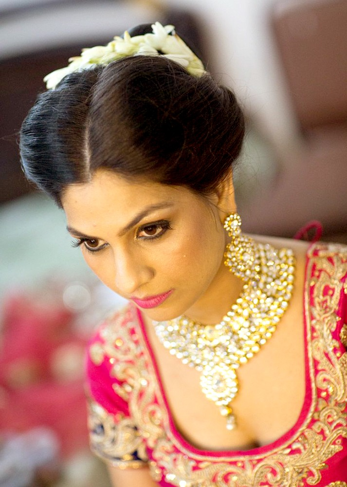 Candid shot of a bride by Nishi Singh Bridal-makeup | Weddings Photos & Ideas
