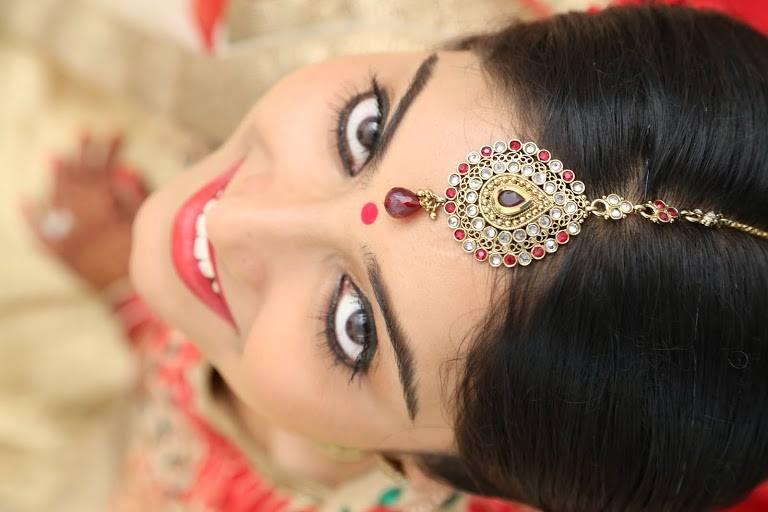 The beautiful bride by Nishi Singh Bridal-makeup | Weddings Photos & Ideas
