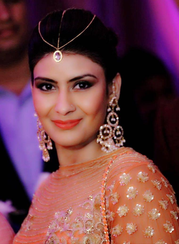 Beautiful bride by Nishi Singh Bridal-makeup   Weddings Photos & Ideas