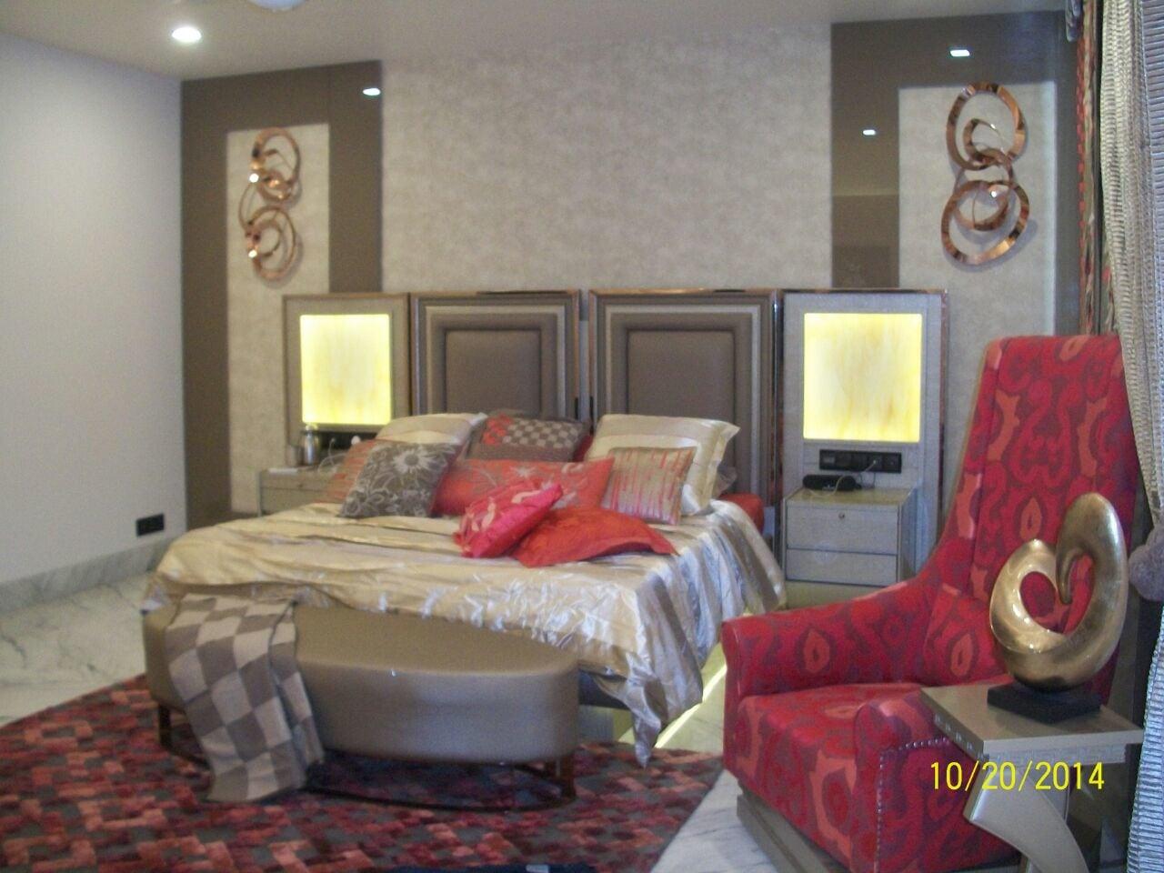 Marble Flooring In Bedroom by Khayati Bedroom Modern   Interior Design Photos & Ideas