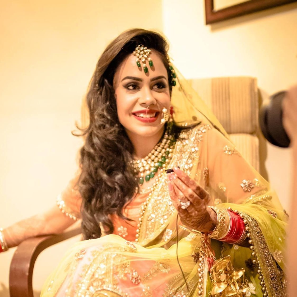 Bringing on the Anarkali! by Pooja Sonik Shukla Bridal-makeup | Weddings Photos & Ideas