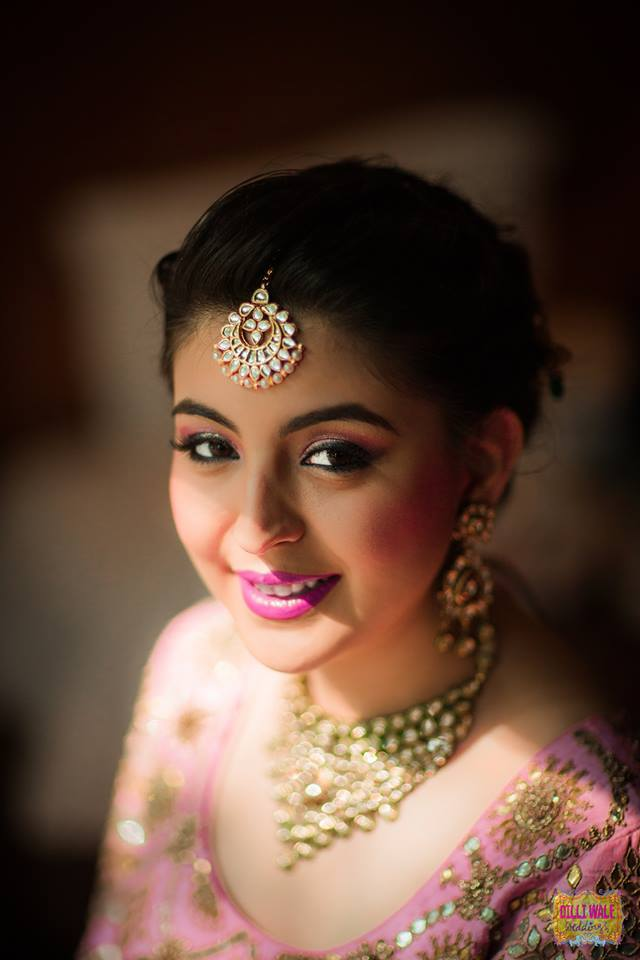 Slick and Soft by Pooja Sonik Shukla Bridal-makeup | Weddings Photos & Ideas