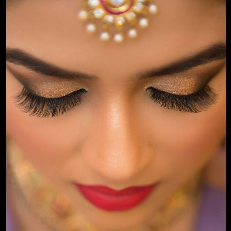 Sharp edged smudge look by Pooja Sonik Shukla Bridal-makeup | Weddings Photos & Ideas