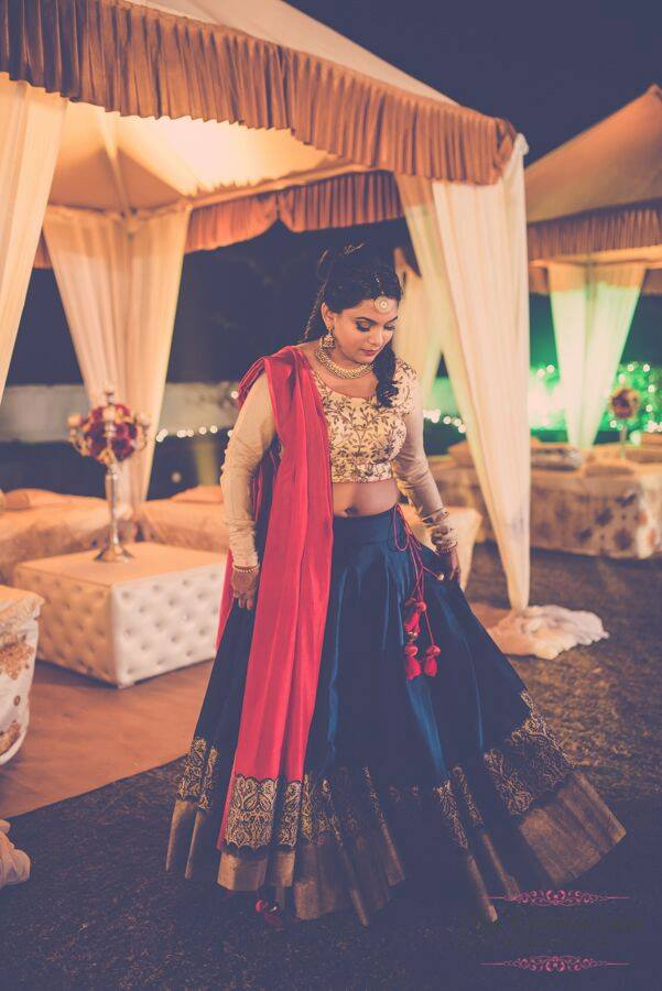 Beautiful bride. by Ayushi Tayal Bridal-makeup | Weddings Photos & Ideas