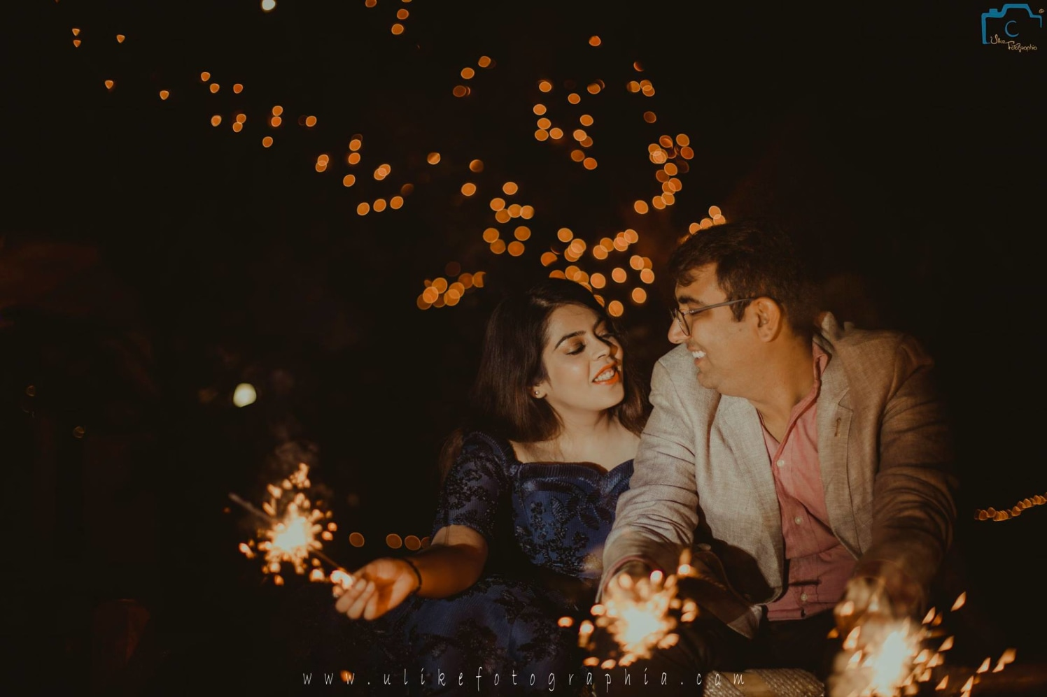 Fireworks and lights by ULike Fotographia Wedding-photography | Weddings Photos & Ideas