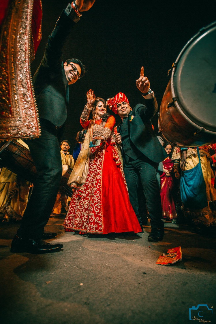 Mandatory baraati dance! by ULike Fotographia Wedding-photography | Weddings Photos & Ideas