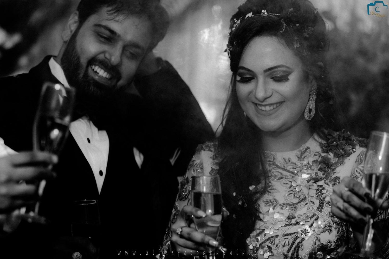 Cheers to the new couple by ULike Fotographia Wedding-photography   Weddings Photos & Ideas