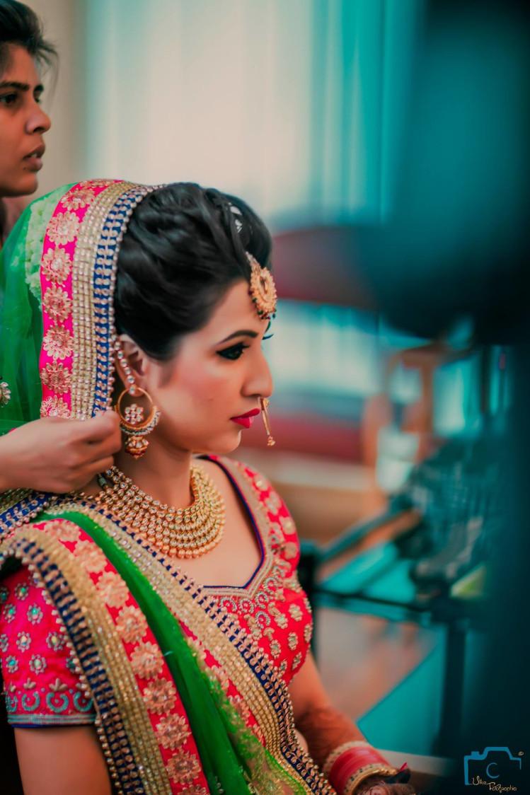 Glittering dupatta by ULike Fotographia Wedding-photography | Weddings Photos & Ideas