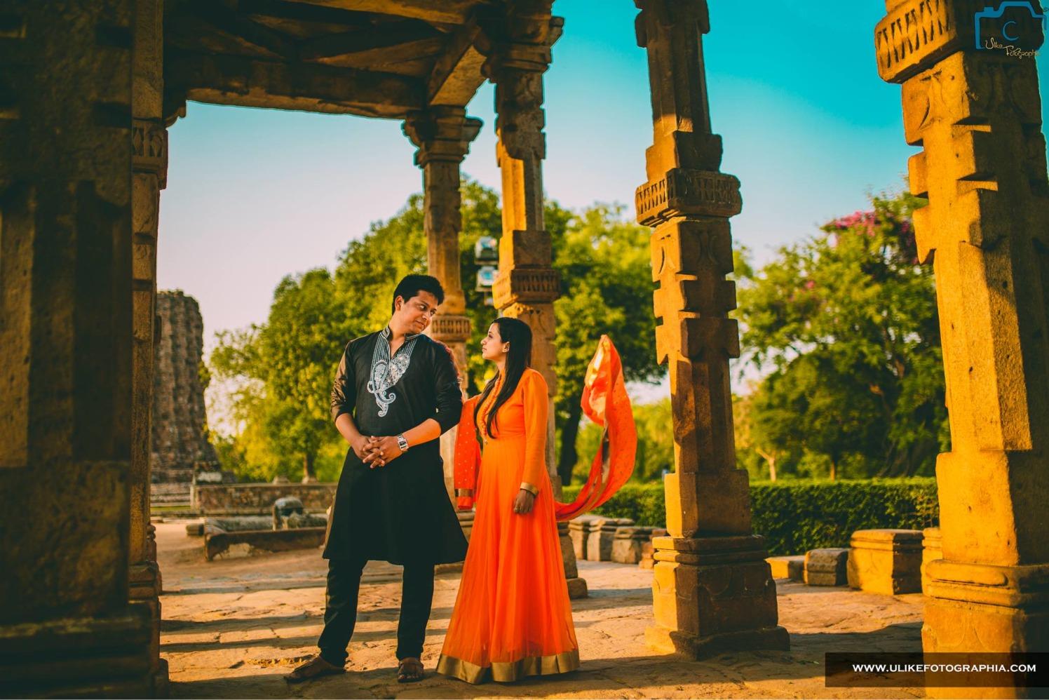 Dupatta flowing in the breeze by ULike Fotographia Wedding-photography   Weddings Photos & Ideas