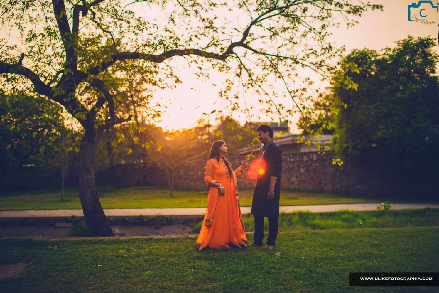 Orange glow by ULike Fotographia Wedding-photography | Weddings Photos & Ideas