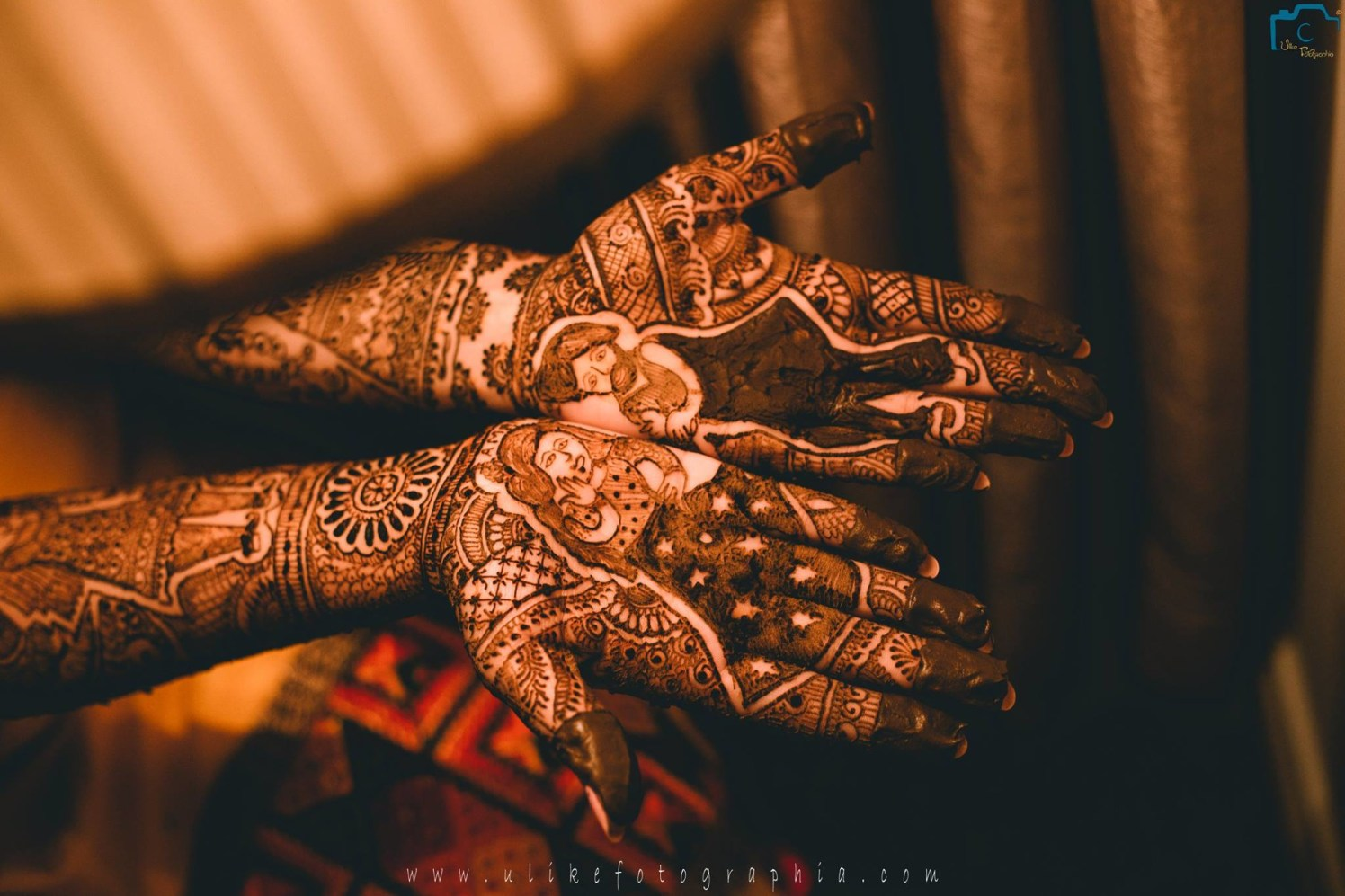 The Raja And Rani Mehendi Designs by ULike Fotographia Wedding-photography | Weddings Photos & Ideas