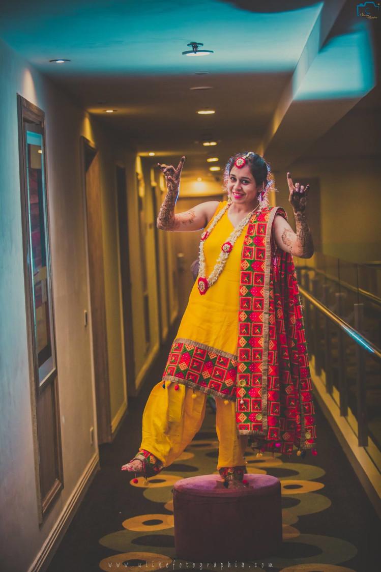 Bhangra girl by ULike Fotographia Wedding-photography | Weddings Photos & Ideas