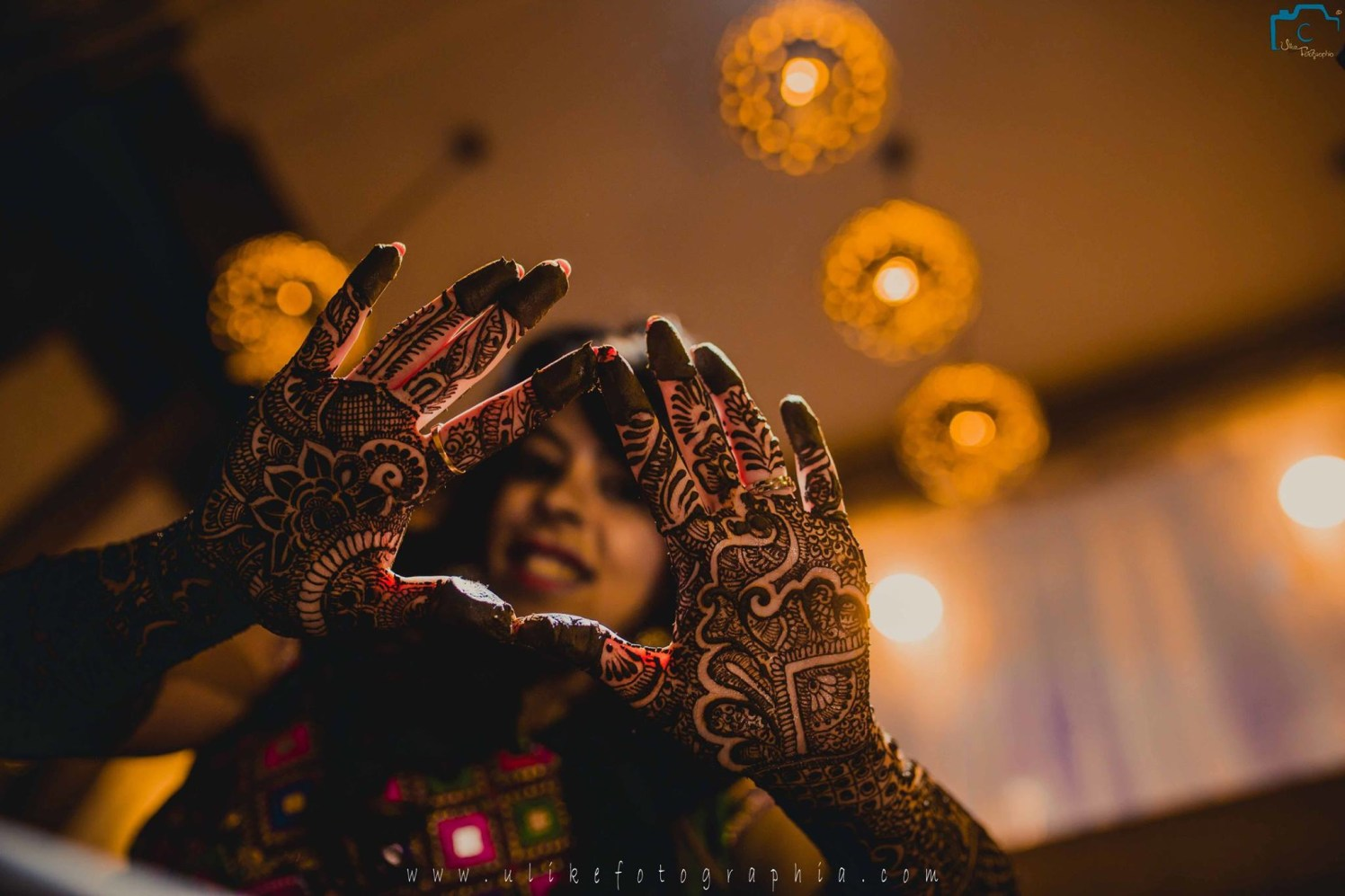 Beautiful Floral Patterns Of Mehendi by ULike Fotographia Wedding-photography | Weddings Photos & Ideas