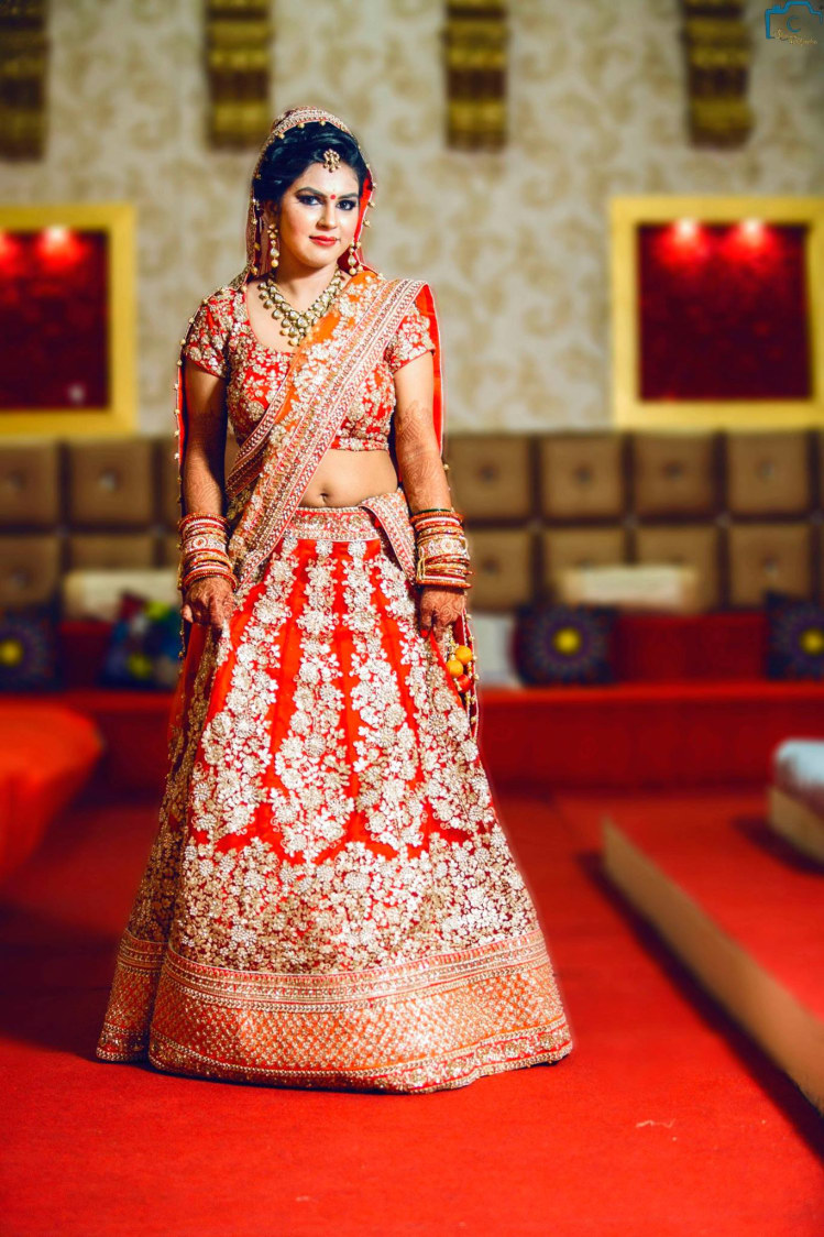 Beautiful wedding lehenga by ULike Fotographia Wedding-photography | Weddings Photos & Ideas