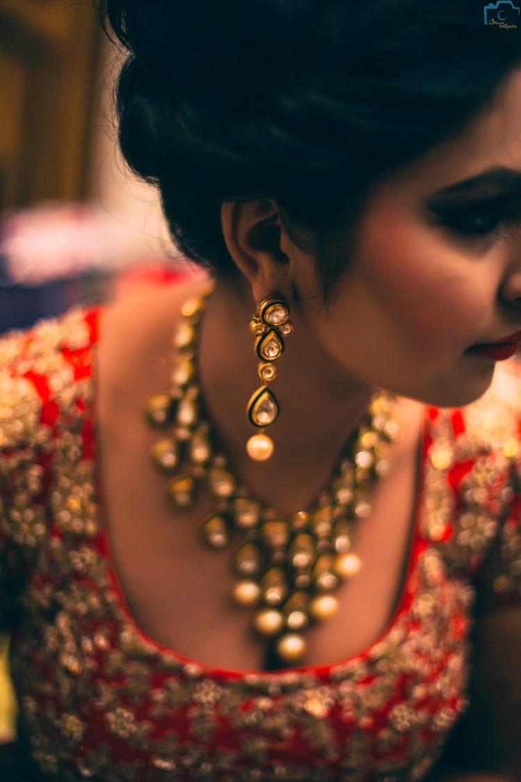 Kundan embedded earings by ULike Fotographia Wedding-photography | Weddings Photos & Ideas