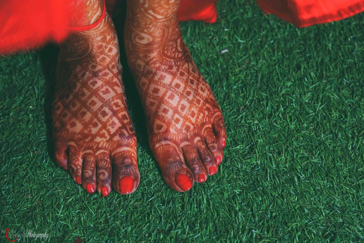 Henna on feet by AKfotography Wedding-photography | Weddings Photos & Ideas
