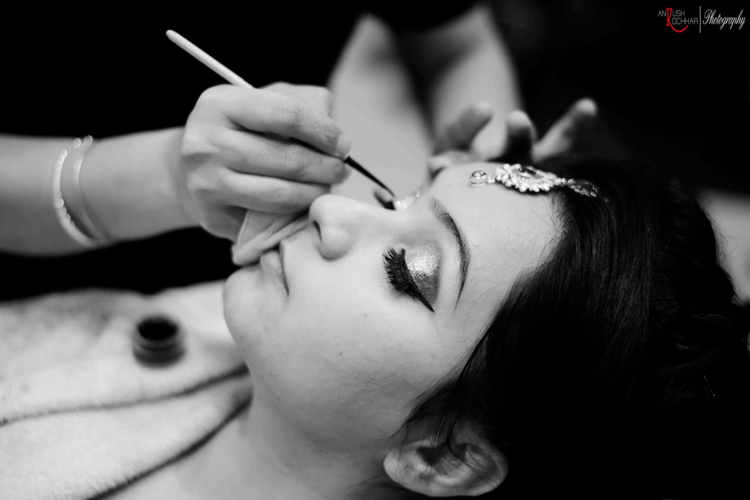 Beautiful Indian bride getting ready by AKfotography Wedding-photography | Weddings Photos & Ideas