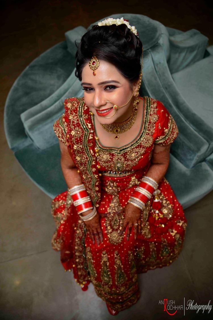Red bridal lehenga by AKfotography Wedding-photography   Weddings Photos & Ideas