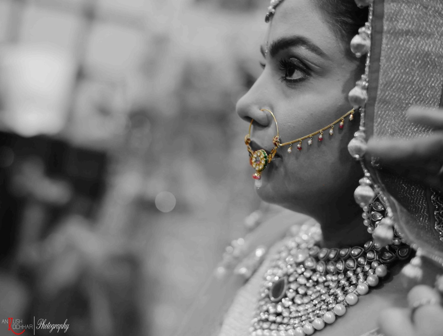 Bride Monochrome Shot by AKfotography Wedding-photography | Weddings Photos & Ideas