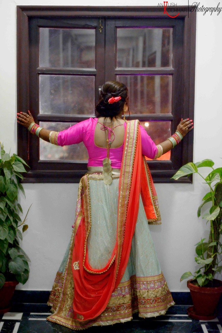 Peach and Pastel Net Lehenga by AKfotography Wedding-photography | Weddings Photos & Ideas