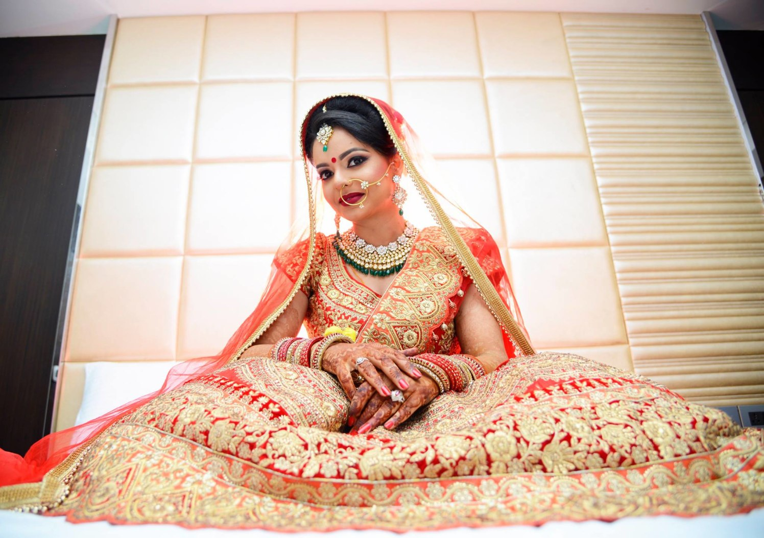 Bold Bridal Makeup by AKfotography Wedding-photography | Weddings Photos & Ideas