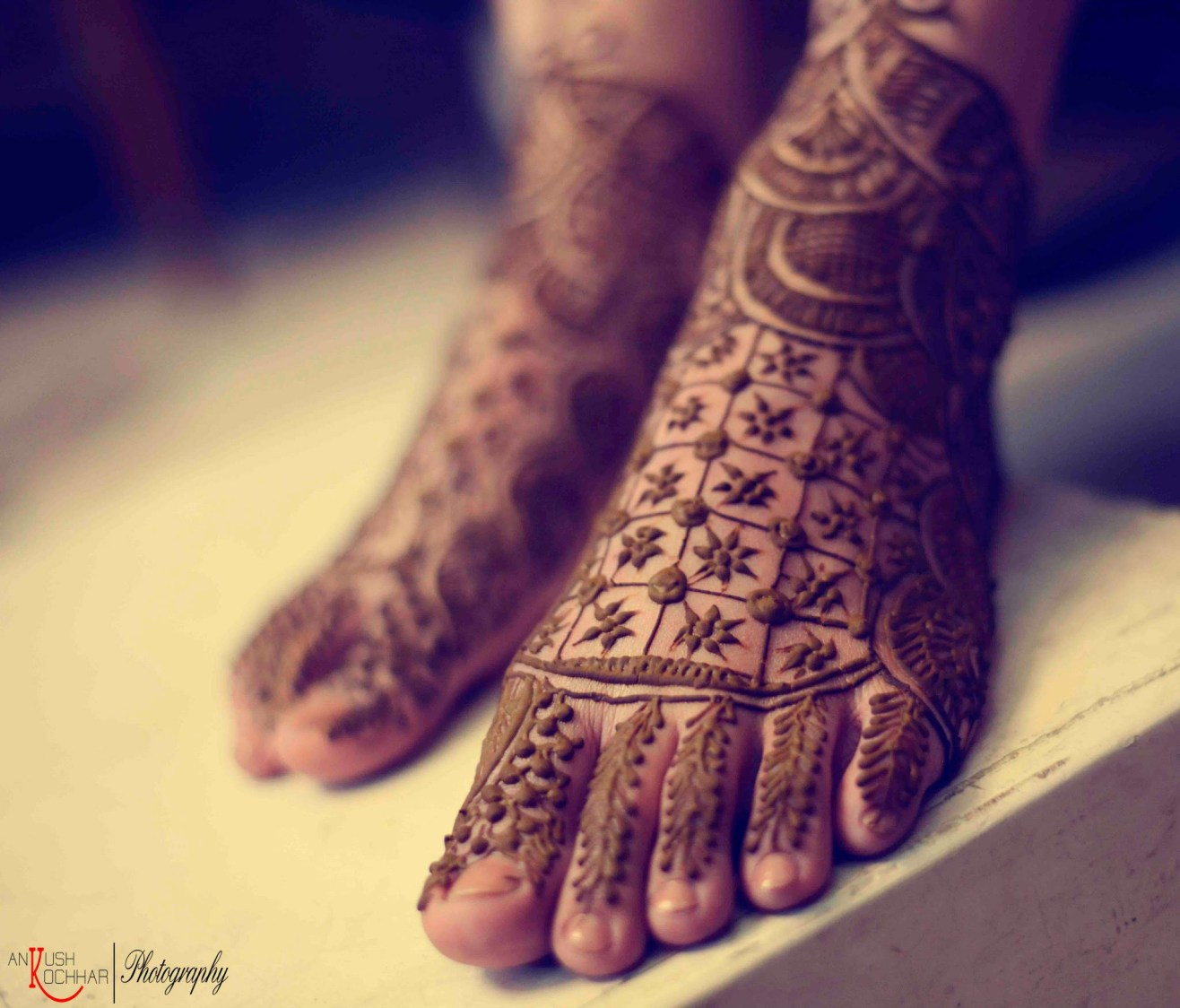 Bridal Feet Mehendi by AKfotography Wedding-photography Bridal-mehendi | Weddings Photos & Ideas