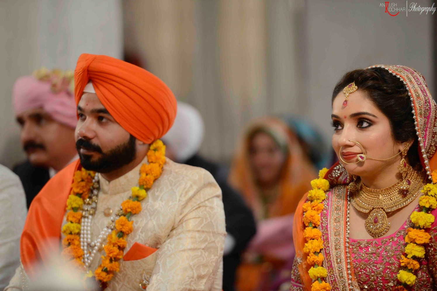 Royal sikh couple by AKfotography Wedding-photography | Weddings Photos & Ideas