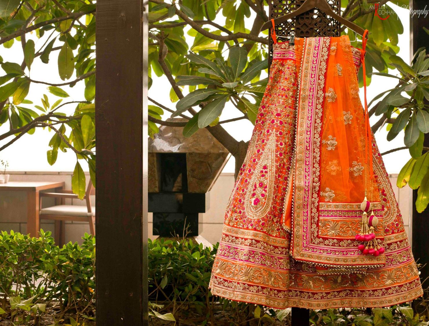 Orange wedding attire by AKfotography Wedding-photography | Weddings Photos & Ideas