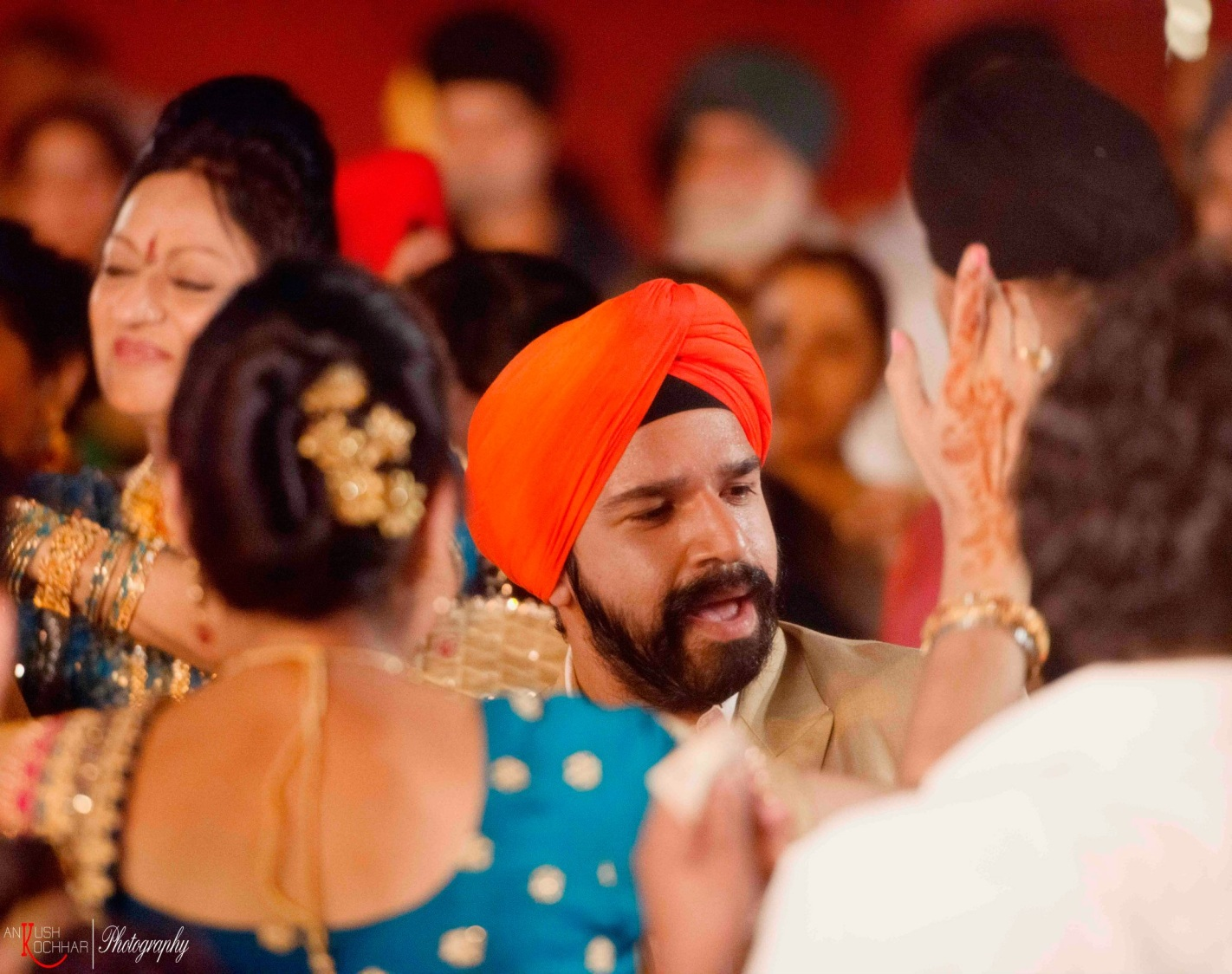 Guests at indian weddings by AKfotography Wedding-photography | Weddings Photos & Ideas