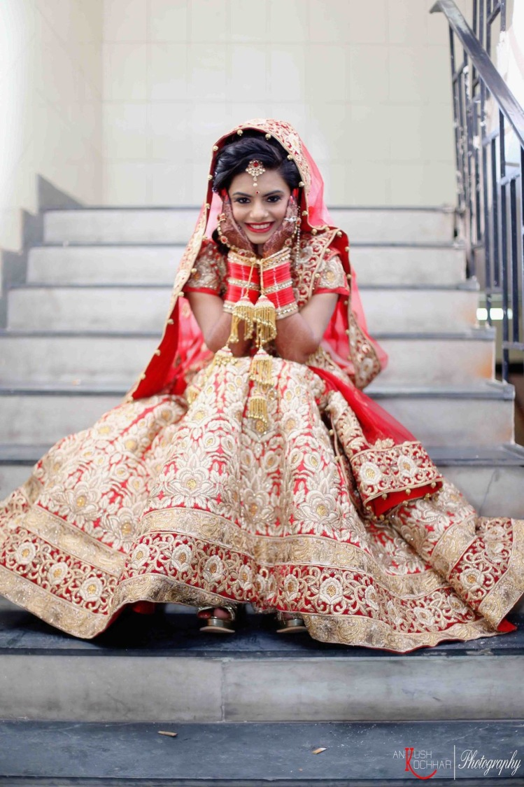 Red lehenga never goes out of style ! by AKfotography Wedding-photography | Weddings Photos & Ideas