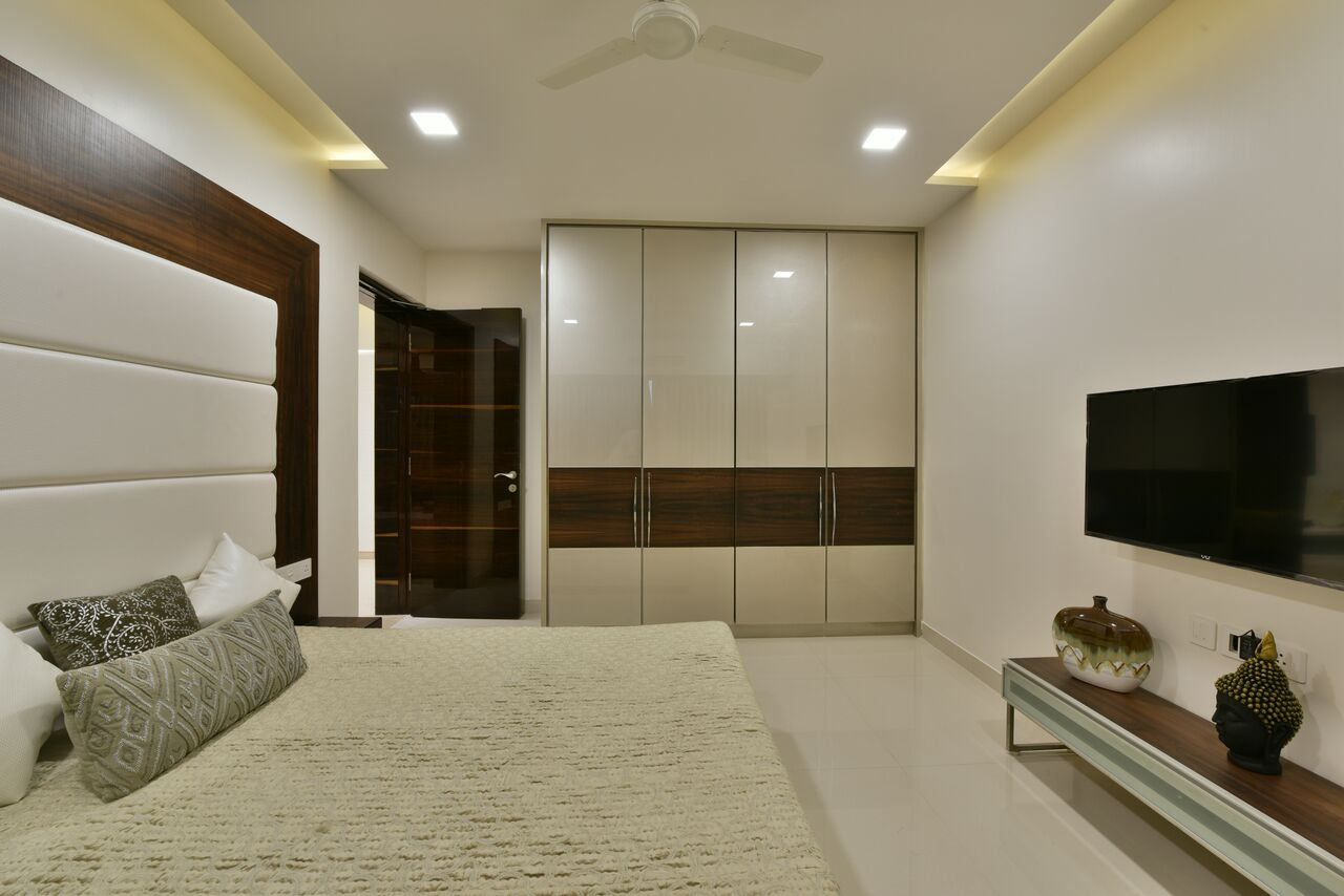 Blur Those Lines by ARCHITECT KAUSHAL CHOUHAN Bedroom | Interior Design Photos & Ideas