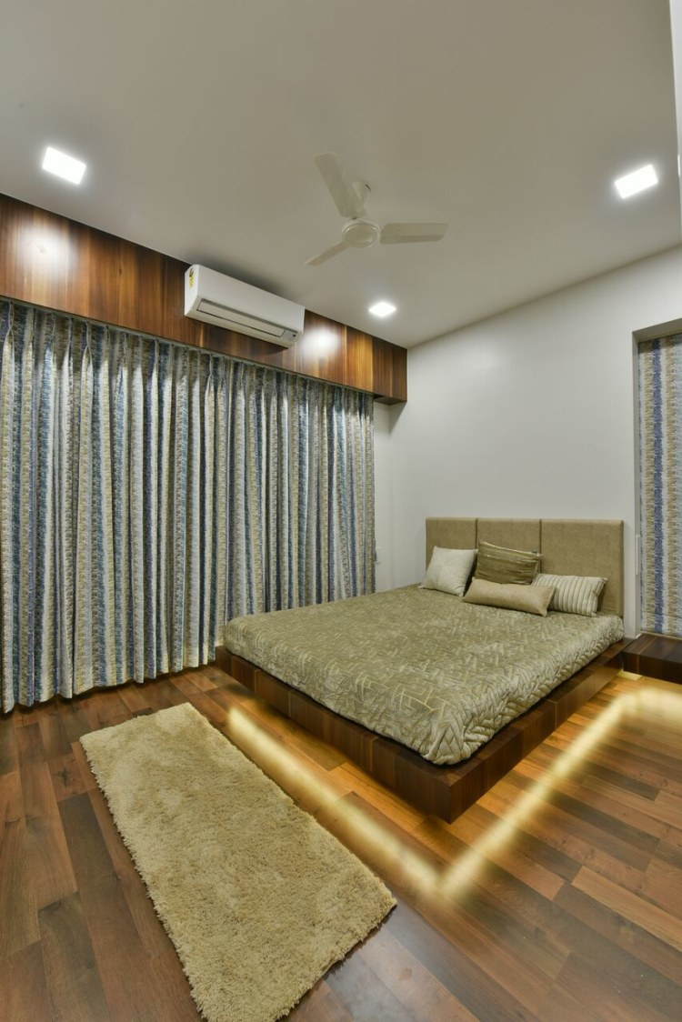 The Lighting Effect by ARCHITECT KAUSHAL CHOUHAN Bedroom | Interior Design Photos & Ideas