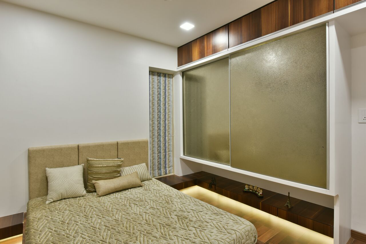 The Beauty in Elegance by ARCHITECT KAUSHAL CHOUHAN Bedroom | Interior Design Photos & Ideas
