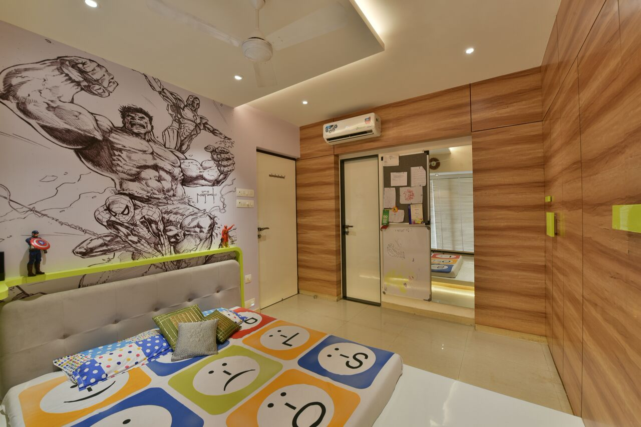 The Kids Area by ARCHITECT KAUSHAL CHOUHAN Contemporary | Interior Design Photos & Ideas
