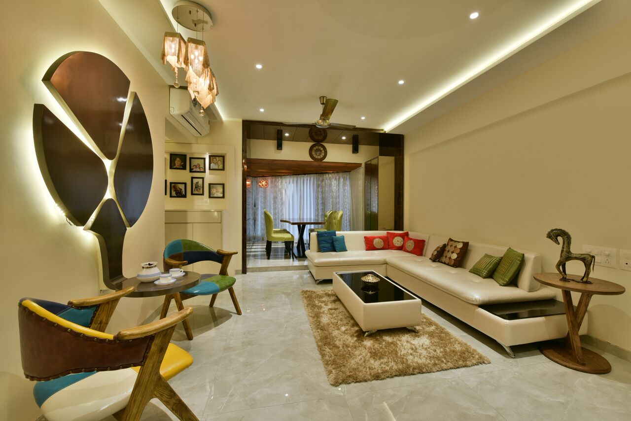 The Leather Touch by ARCHITECT KAUSHAL CHOUHAN Contemporary | Interior Design Photos & Ideas