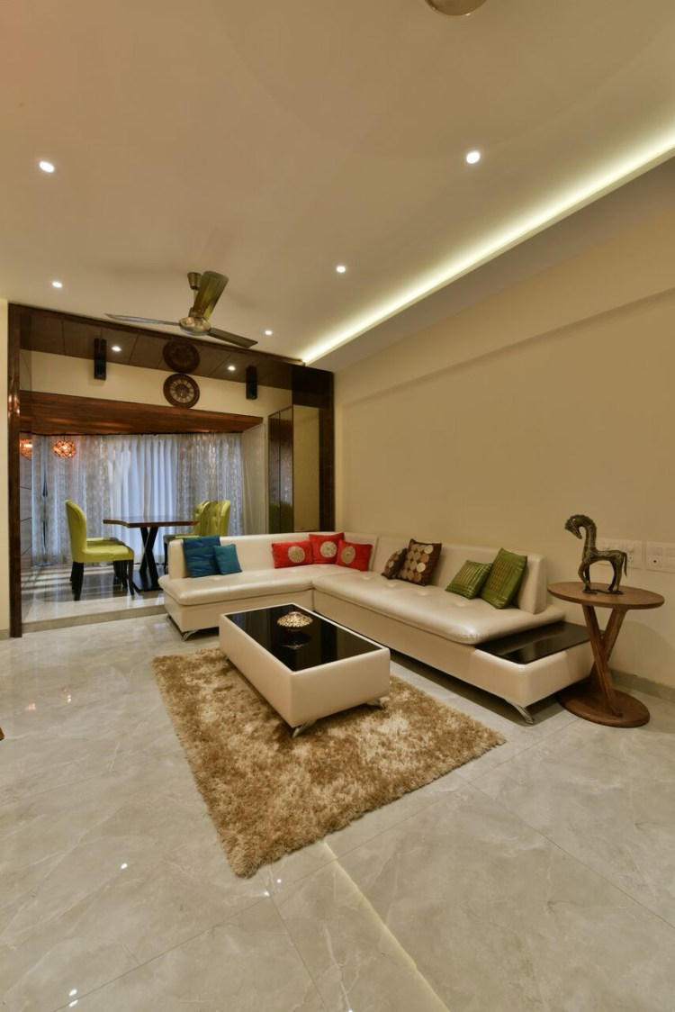 Floral Tones by ARCHITECT KAUSHAL CHOUHAN Contemporary | Interior Design Photos & Ideas