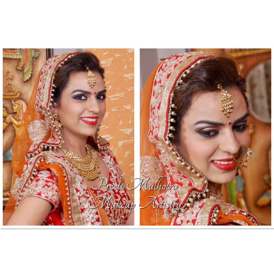 Picture perfect. by Preeti Malhotra Bridal-makeup | Weddings Photos & Ideas