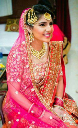The picture perfect by Preeti Malhotra Bridal-makeup | Weddings Photos & Ideas