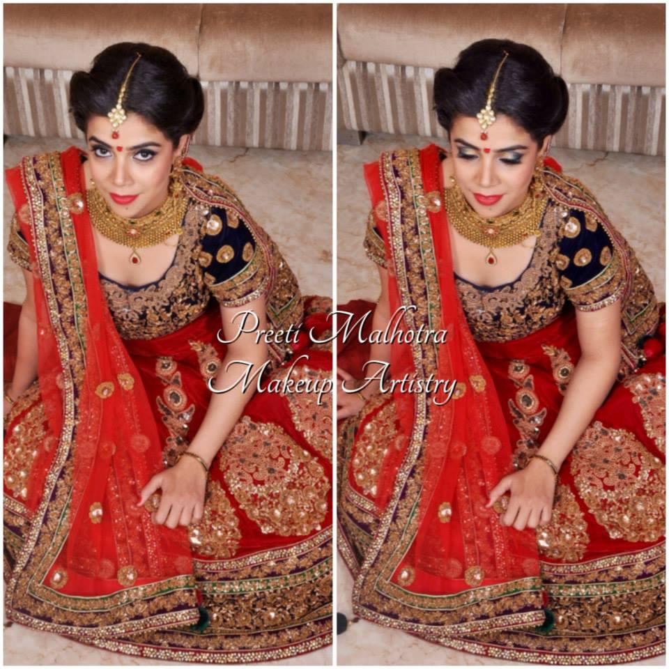 The aesthetic beauty by Preeti Malhotra Bridal-makeup | Weddings Photos & Ideas