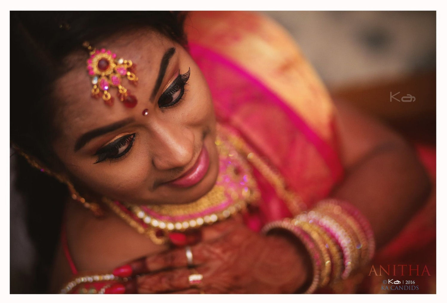 Winged eyeliner by KA Candids Wedding-photography | Weddings Photos & Ideas