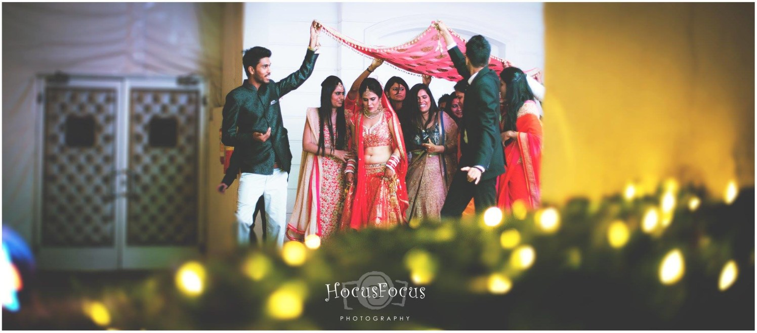 Bride entry by HOCUS FOCUS PHOTOGRAPHY  Wedding-photography | Weddings Photos & Ideas