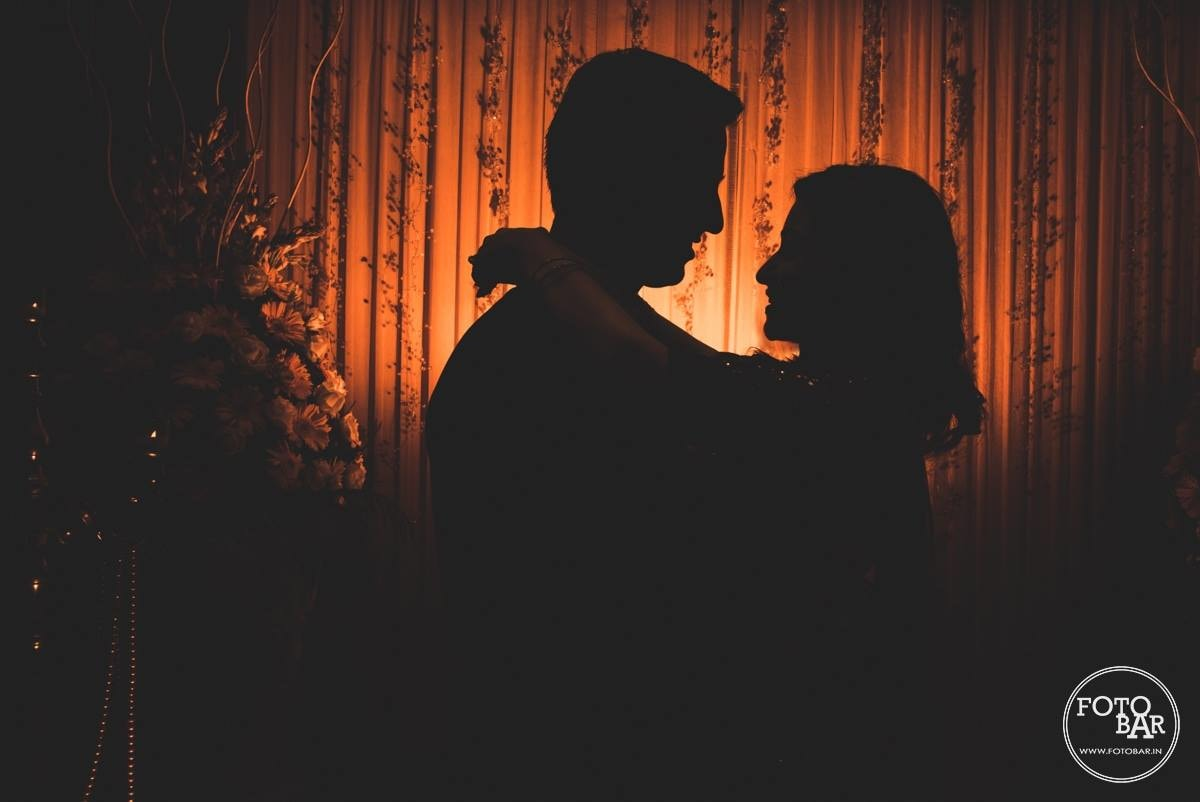 Smashingly beautiful silhouette by Fotobar Wedding-photography | Weddings Photos & Ideas