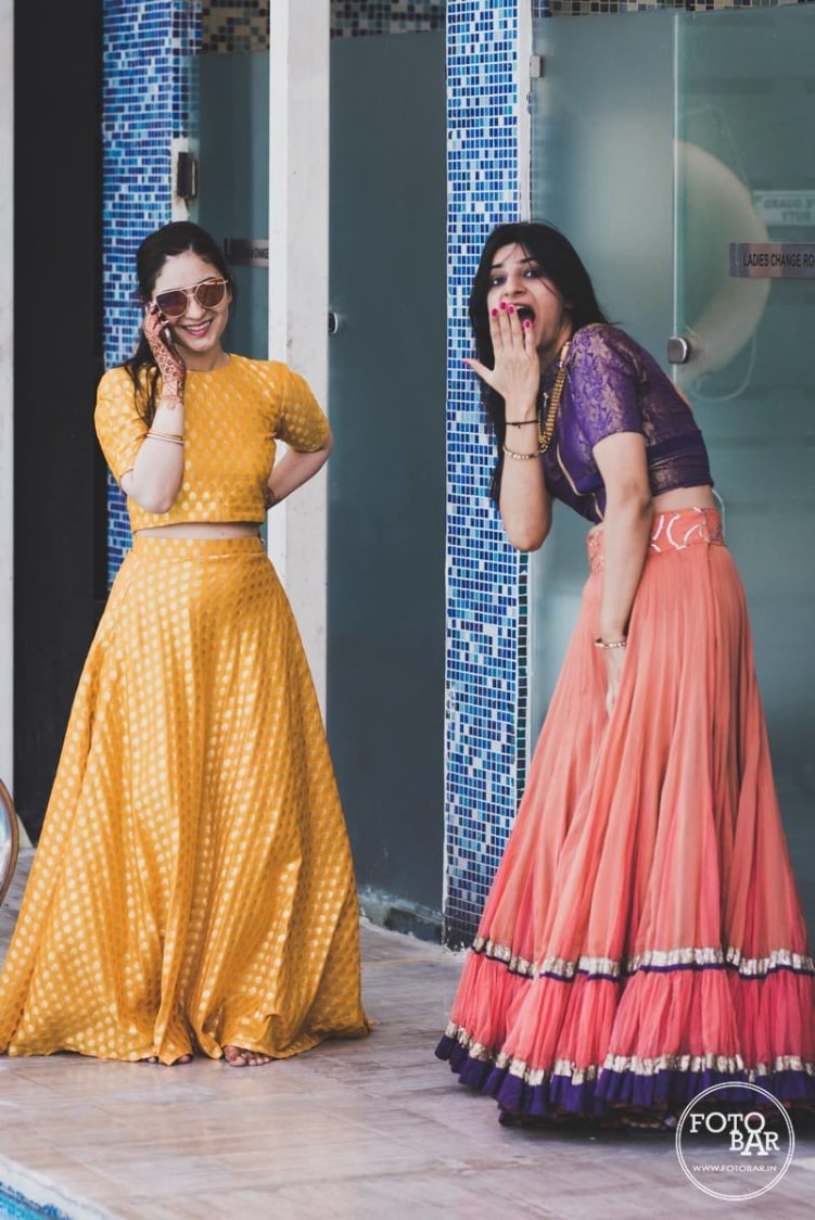 Gorgeous beauties in beautiful attires by Fotobar Wedding-photography | Weddings Photos & Ideas